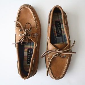 SPERRY TOPSIDER Boat Shoe Leather